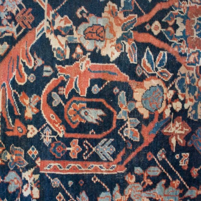 """19th Century Sultanabad Carpet - 9'5"""" x 18'3"""" For Sale - Image 4 of 4"""