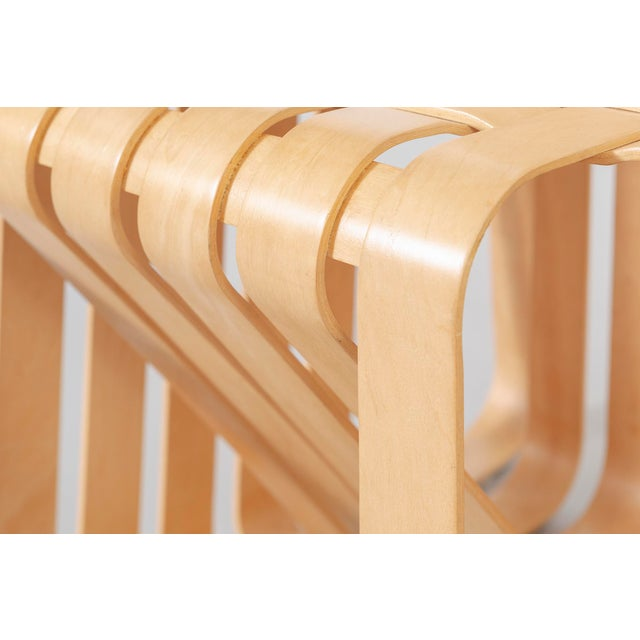 Brown Set of Six Frank Gehry High Sticking Chairs For Sale - Image 8 of 13