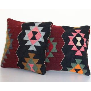 Vintage Kilim Rug Pillow - a Pair Preview