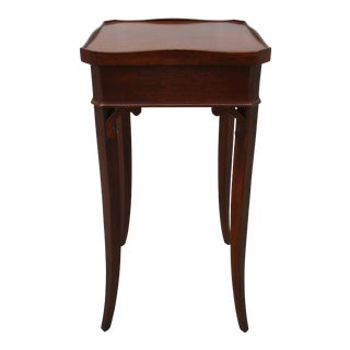 Classic Sabre Leg Wine or Accent Table For Sale