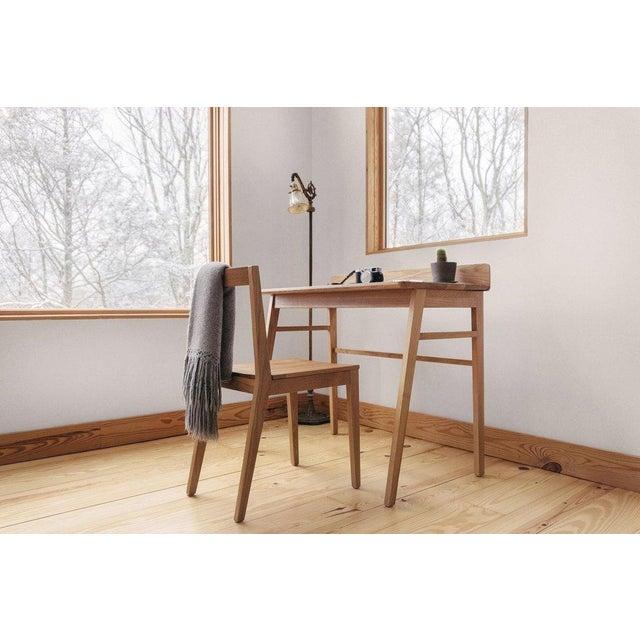 Solid White Oak Desk - Image 5 of 5