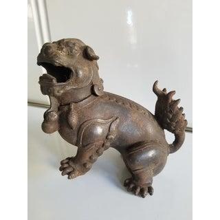 Antique Iron Dragon Incense Burner Preview