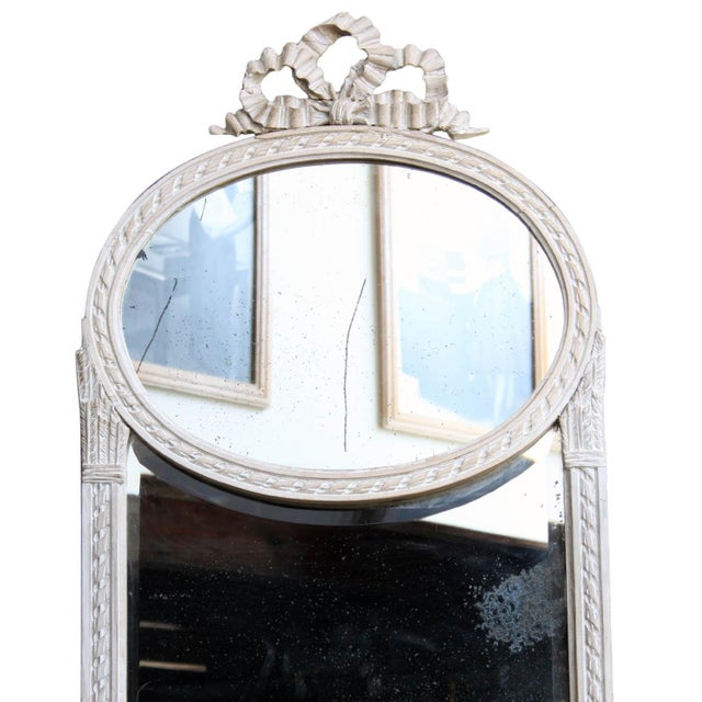 French Antique French Mirror For Sale - Image 3 of 10
