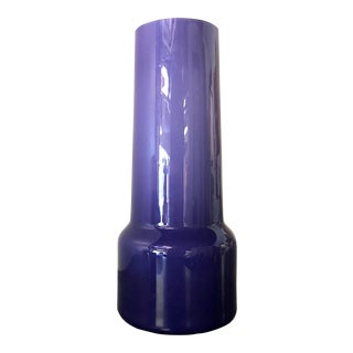 Kastrup for Raymor Purple Opaline Vase by Jacob E. Bang For Sale