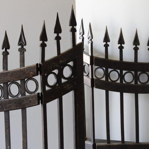 Mid 18th Century Wood Stable Gates - A Pair For Sale - Image 4 of 6