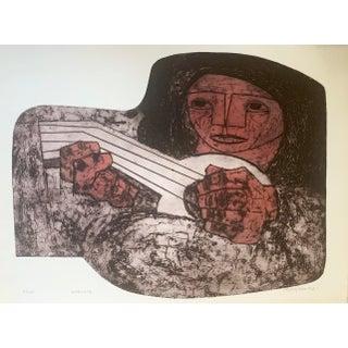 Jorge Dumas Portrait Lithograph For Sale