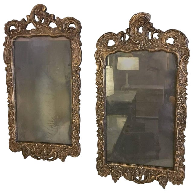 09718a154be0 Pair of 19th Century Italian Carved Mirror Frames For Sale