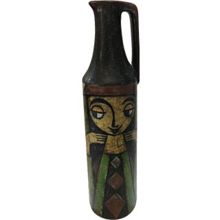 Michael Andersen Danish Crackled Finish Vase
