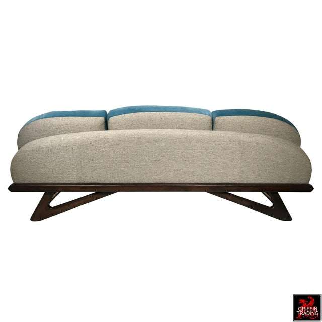 Craft Associates Adrian Pearsall Sofa by Craft Associates For Sale - Image 4 of 13