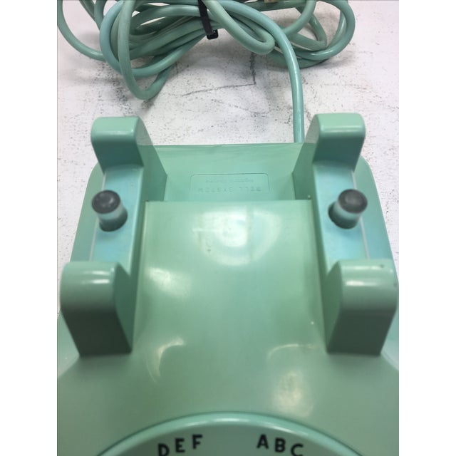 Turquoise 500 Rotary Dial Desk Phone - Image 9 of 11
