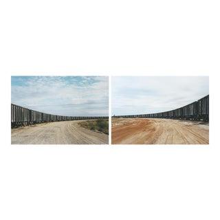 Victoria Sambunaris (American, B. 1964) Untitled (Rail Yard) and Untitled (Rail Car Unloading), Near Cotulla, Tx, 2012