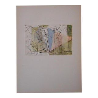 Vintage Mid 20th C. Picasso Lithograph