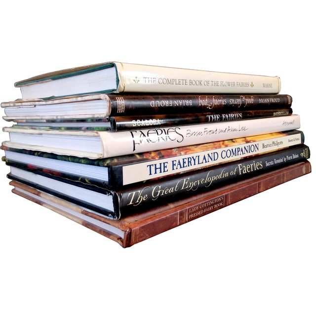 Fairy Lore & Mythology Book Collection - Set of 7 - Image 1 of 9