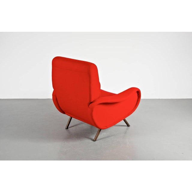 "First Edition ""Lady"" Easy Chair by Marco Zanuso for Arflex, Italy, circa 1950 - Image 5 of 9"