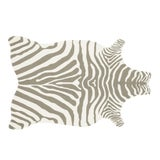 """Image of Loloi Rugs Zadie Rug, Gray / White - 3'6""""x5'6"""" For Sale"""