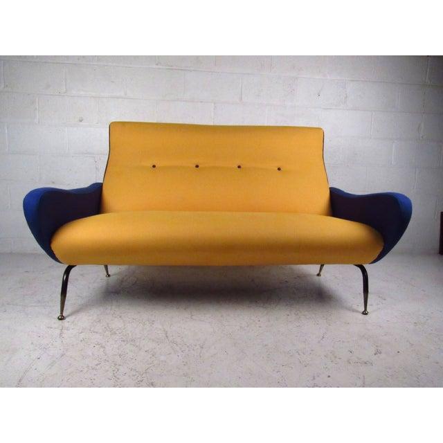 Italian Modern Zanuso-Style Sofa - Image 3 of 9