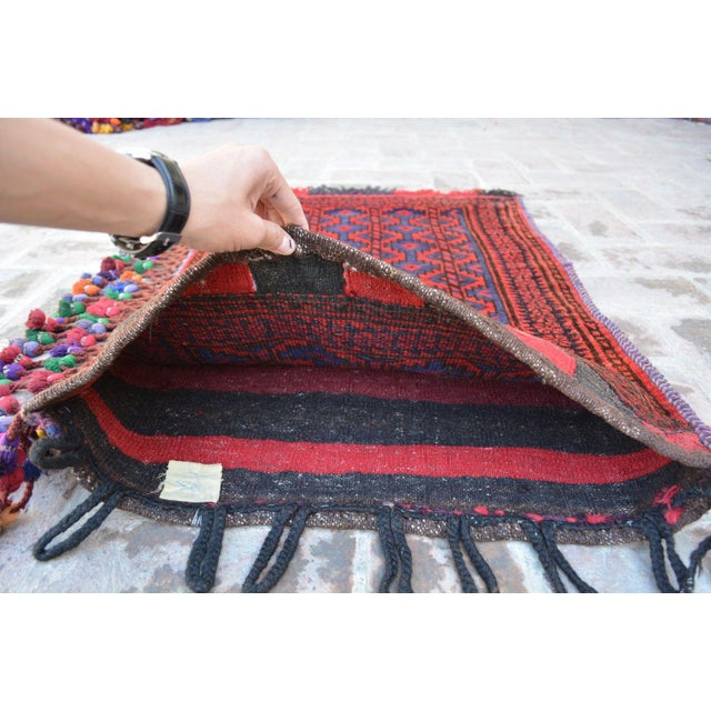 Poshti (Pushti) is a term that refers to smaller handknotted carpets historically used as back pillows by the Afghan...