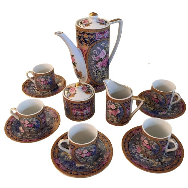 Vintage Demitasse Tea Set - Set for 6 - Image 1 of 6