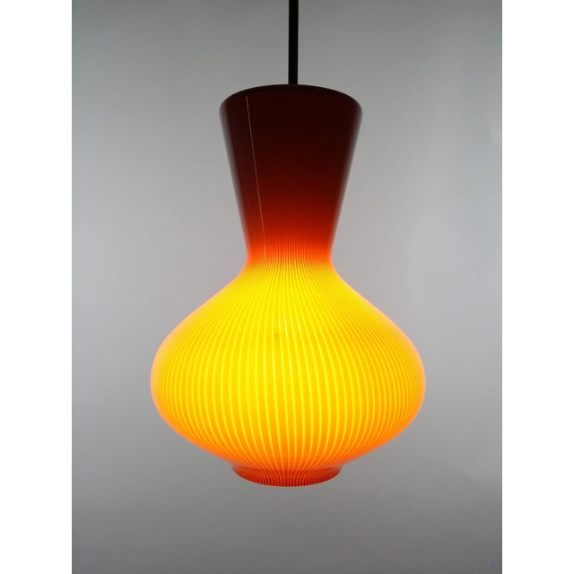 """Mid 20th Century Pair of Massimo Vignelli """"Fungo"""" Lighting Fixtures For Sale - Image 5 of 9"""