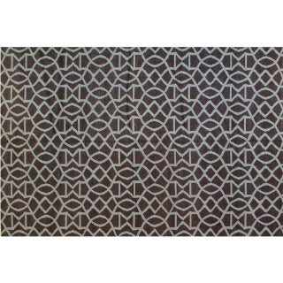 Stark Studio Rugs Contemporary New Oriental Wool Rug - 6′1″ × 9′1″ For Sale