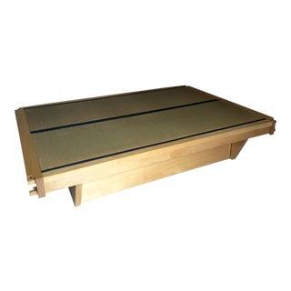 Miya Shoji Hand Crafted Solid Maple Tatami Platform Bed