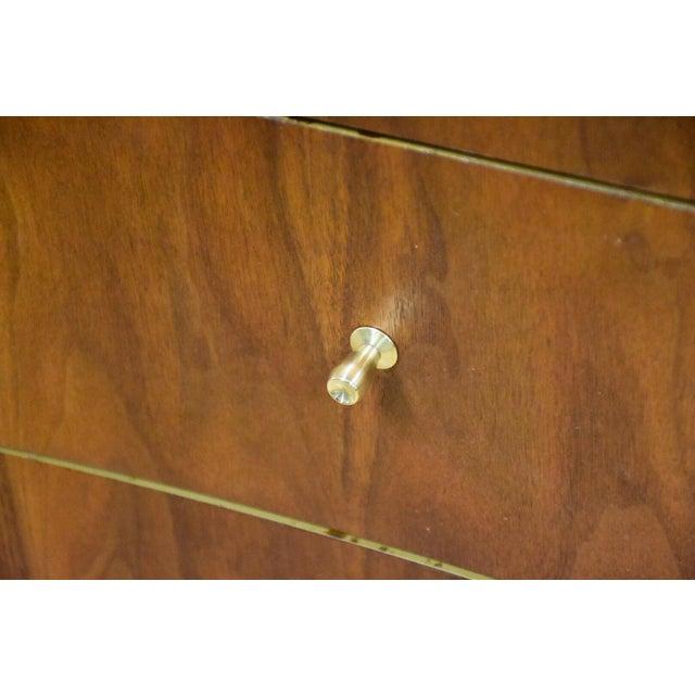 Forward Furniture by Unagusta Walnut Dresser For Sale - Image 10 of 11