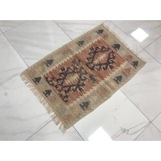 Turkish Handmade Tribal Floor Kilim Preview