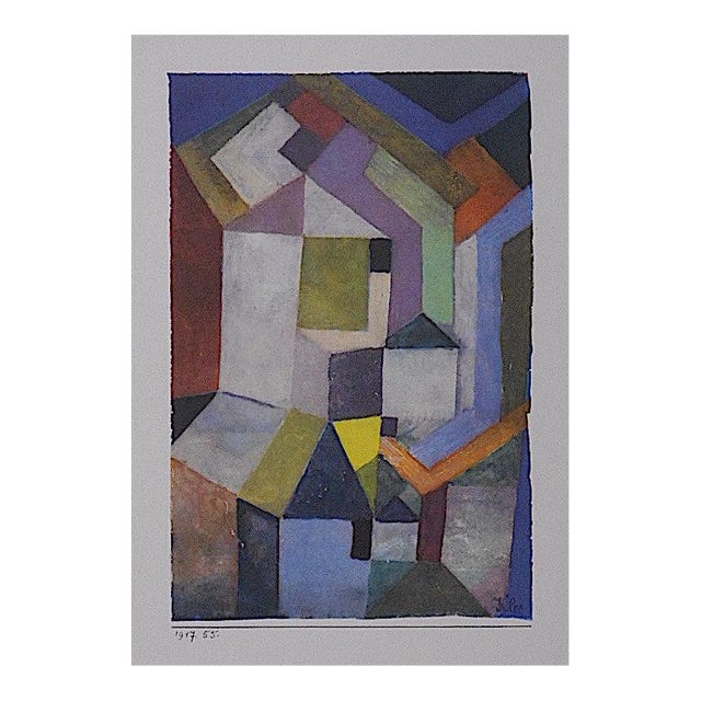 Paul Klee Vintage Paul Klee Mid-Century Abstract Lithograph For Sale - Image 4 of 4