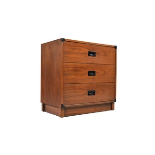 Mid-Century Campaign Style Chest by Drexel For Sale