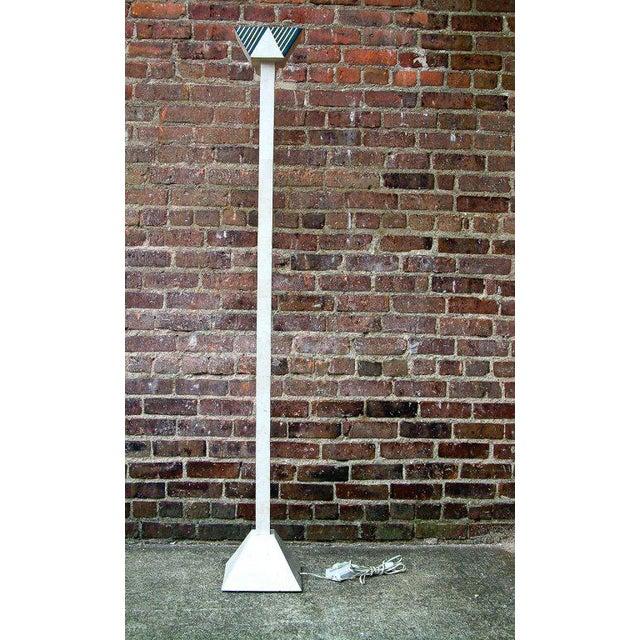 Art Deco Maitland-Smith Halogen Floor Lamp For Sale - Image 3 of 7