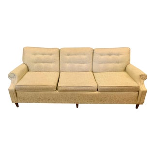 Mid-Century Modern Tufted Sofa For Sale