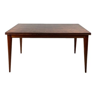 Vintage Danish Rosewood Dining Table by Jl Moller For Sale