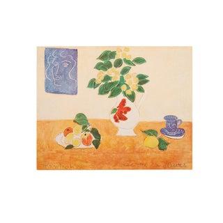 "1947 Henri Matisse, Original Period Lithograph ""Flowering Ivy"" For Sale"