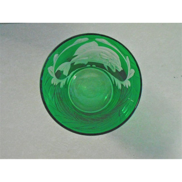 """1990s Artel """"Jungle Baroque"""" Double Old Fashion Glasses - Set of 2 For Sale - Image 5 of 6"""