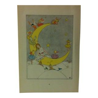 """1927 """"Iris and Her Rainbow Bridge"""" Across the Rainbow Bridge Print For Sale"""