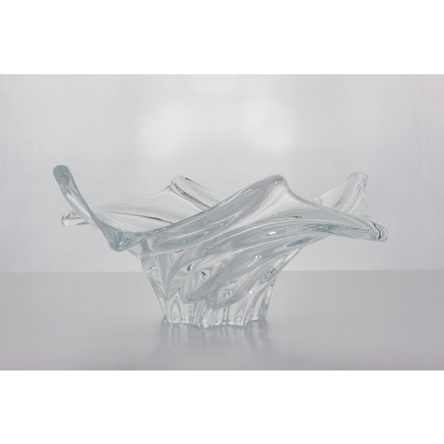 1950s Vannes 1950s Crystal Bowl For Sale - Image 5 of 7