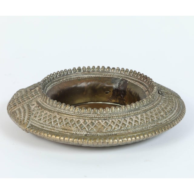 Set of Four Ethnic Silvered Traditional Ankle Bracelets From India For Sale In Los Angeles - Image 6 of 9