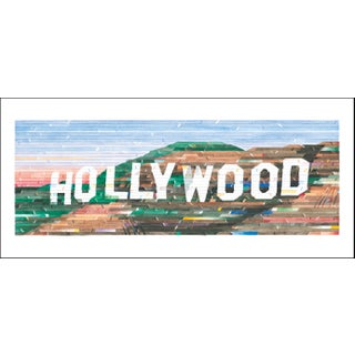 """Hollywood"" Contemporary Limited Edition of 45 Reproduction Print For Sale"