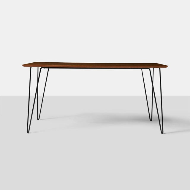 Mid-Century Modern Dining Table by Dorothy Schindele For Sale - Image 3 of 7