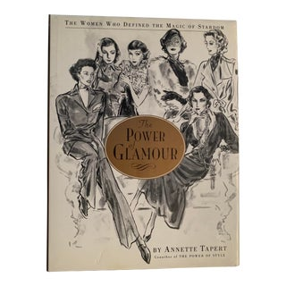 The Power of Glamour by Annette Tapert Book For Sale