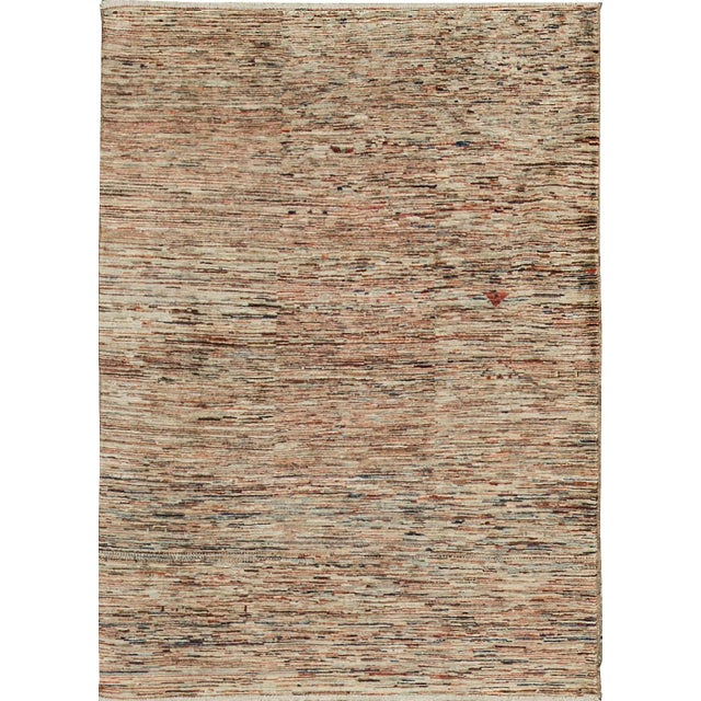 Contemporary Hand Woven Rug - 4' X 5'9 - Image 4 of 4