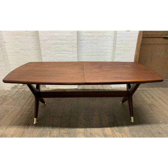 "Fredrik Kayser ""Captains"" Dining Table For Sale - Image 9 of 9"
