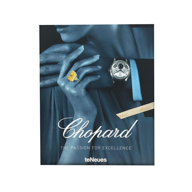 Chopard Book With Hardcover Box For Sale