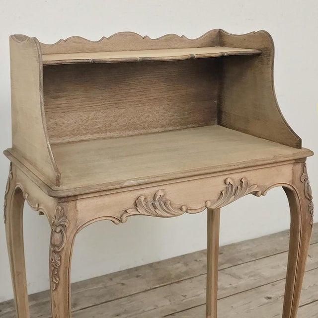 Pair Country French Provincial Nightstands For Sale - Image 11 of 13