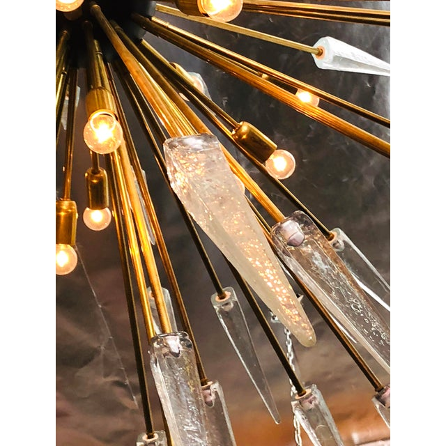 Sole Sputnik Chandelier by Fabio Ltd For Sale In Palm Springs - Image 6 of 7