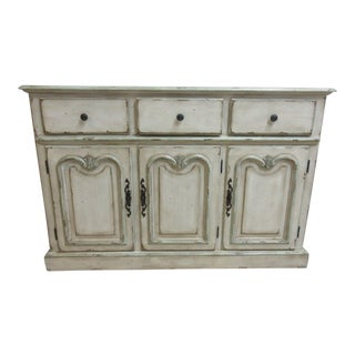 Pulaski Paint Decorated Distressed Sideboard