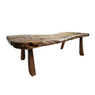 Primitive Javanese Table / Bench For Sale