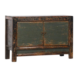 Vintage Reclaimed Sideboard Cabinet For Sale