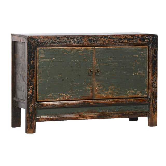 Vintage reclaimed sideboard cabinet chairish for Buy reclaimed wood los angeles