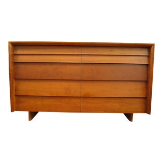 Mid Century Modern Rare 9 Drawer Dresser by Samson Berman- 1950's For Sale